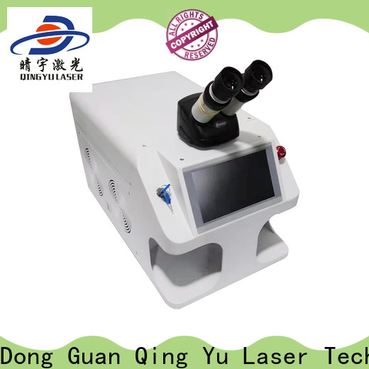Qingyu stable laser welding machine supplier for inner right angle