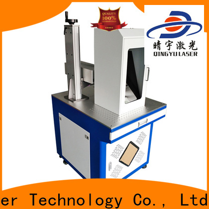 Qingyu portable laser marker supplier for food