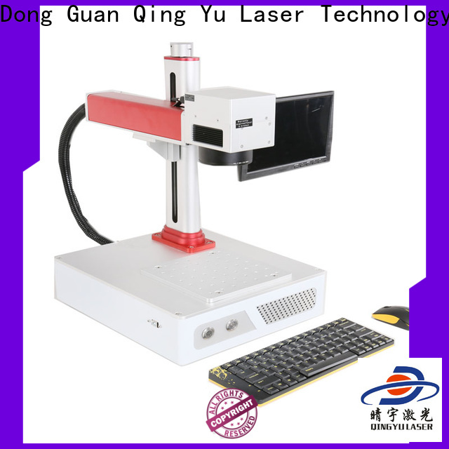 Qingyu portable laser marking machine supplier for food