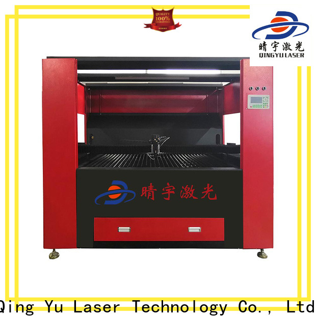 Qingyu laser engraving machine factory price for rubber