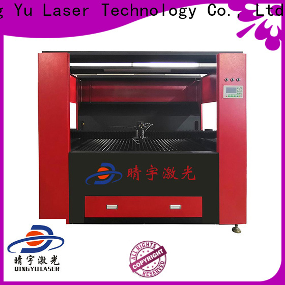 Qingyu high speed wood laser engraving machine directly sale for stone