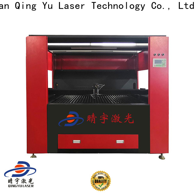 Qingyu laser engraver directly sale for marble