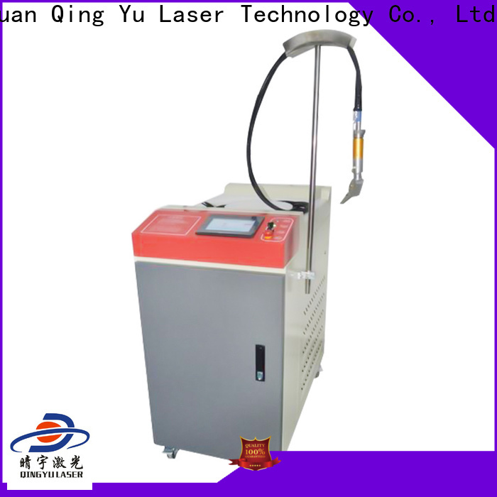 Qingyu efficient laser welding machine factory price for inner right angle