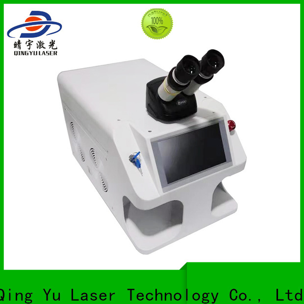 Qingyu laser welding machine supplier for outer right angle