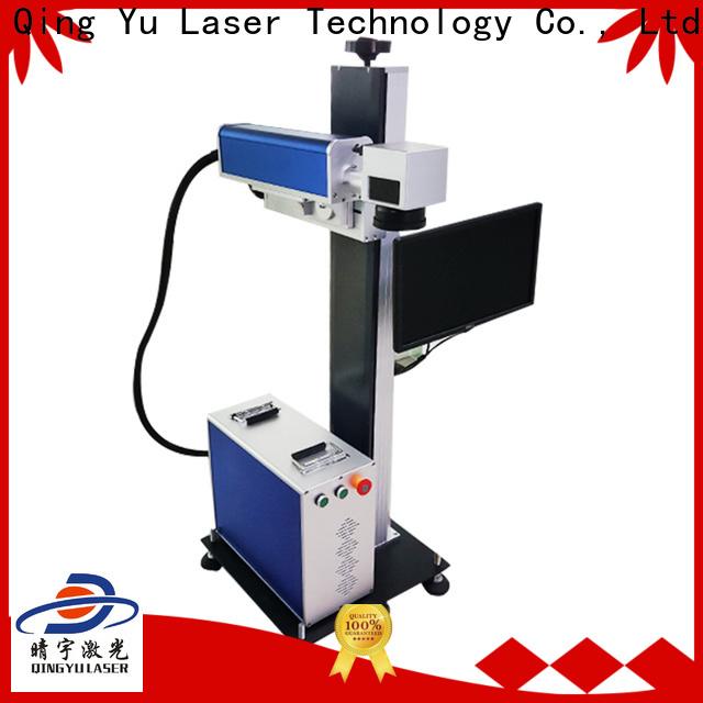 Qingyu laser marking machine cost manufacturer for meter
