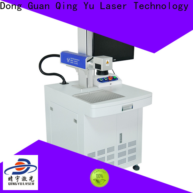 Qingyu portable laser marking machine supplier supplier for leather