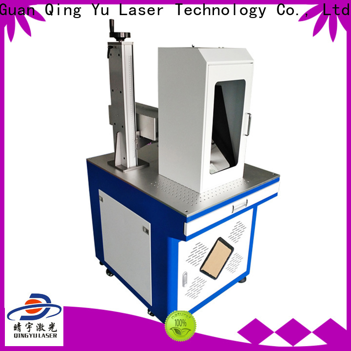 Qingyu stable laser marking companies customized for electronic