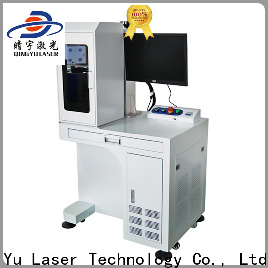Qingyu laser marking machine cost supplier for meter