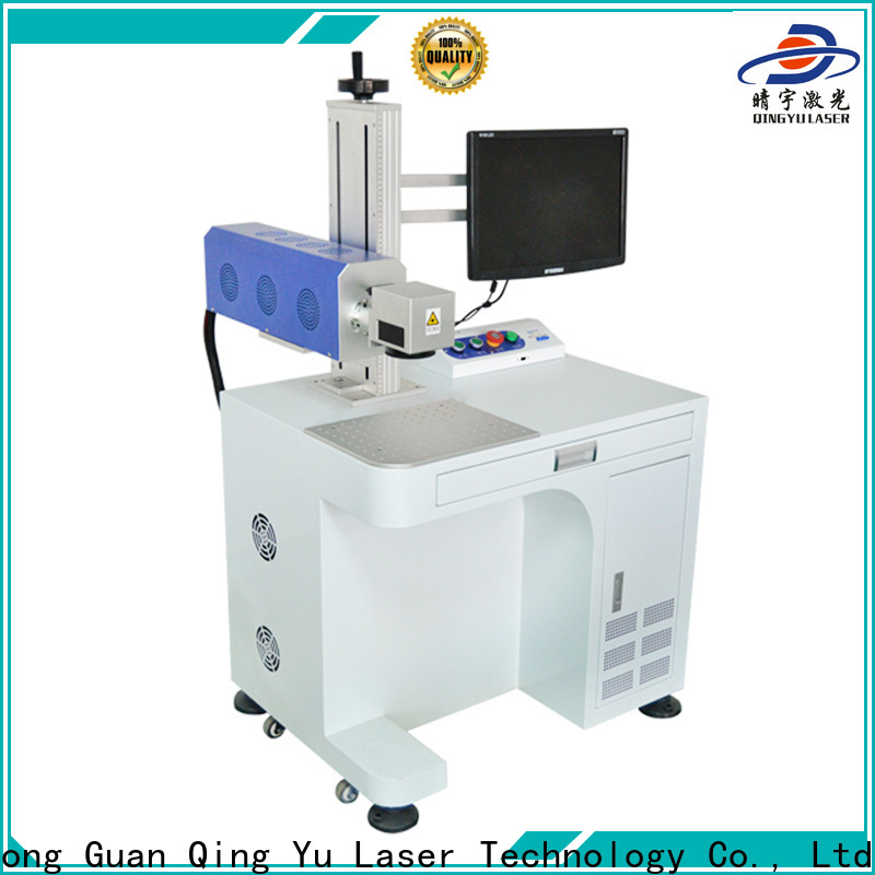 Qingyu stable laser marking machine cost supplier for meter
