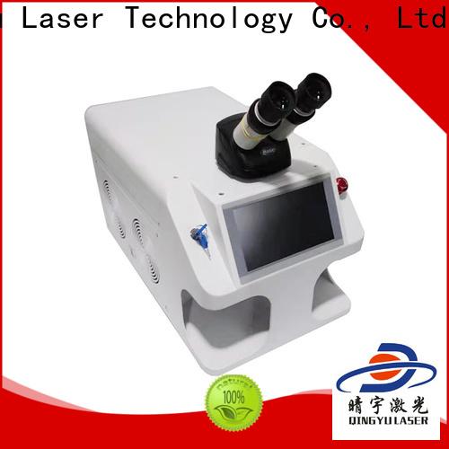 Qingyu long lasting laser welding machine factory price for flat weld welding