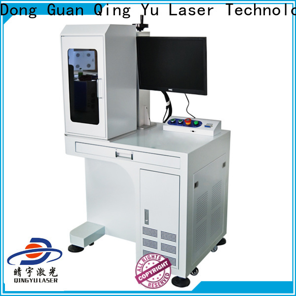 Qingyu high speed laser marking machine supplier supplier for food