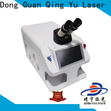 Qingyu laser welder low energy consumption for inner right angle