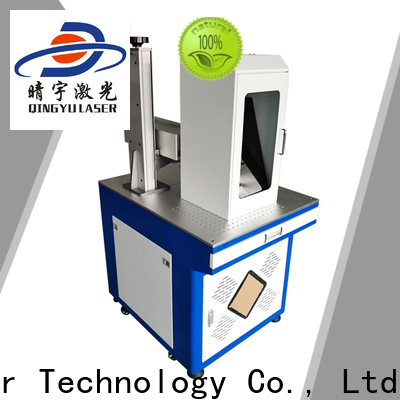 Qingyu high precise laser marking equipment supplier for beverage