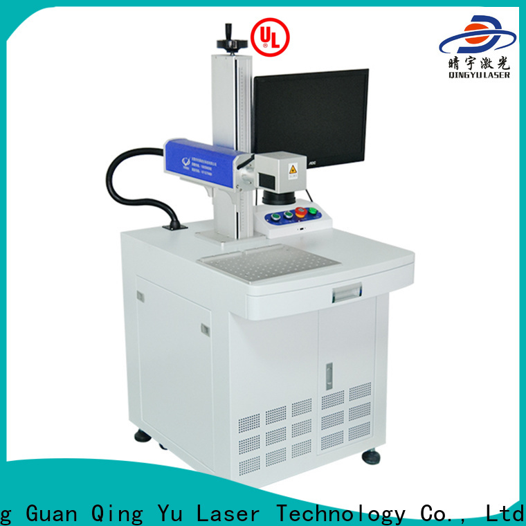 Qingyu portable laser marking equipment supplier for beverage