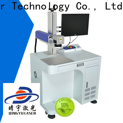 Qingyu high speed LCD laser repair machine manufacturer for leather