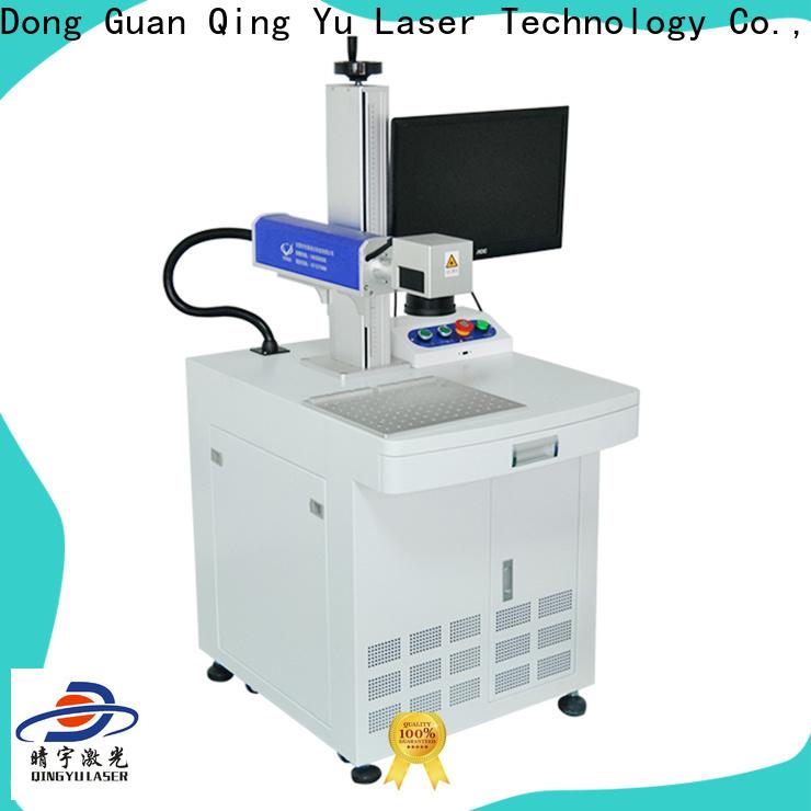 Qingyu portable affordable laser marking machine supplier for beverage