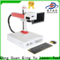 Qingyu stable LCD laser repair machine supplier for leather