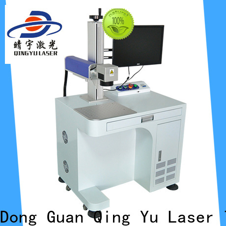Qingyu portable affordable laser marking machine customized for meter