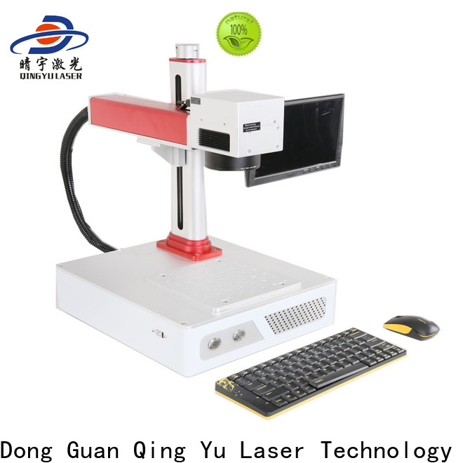 Qingyu high speed laser marking machine supplier series for beverage