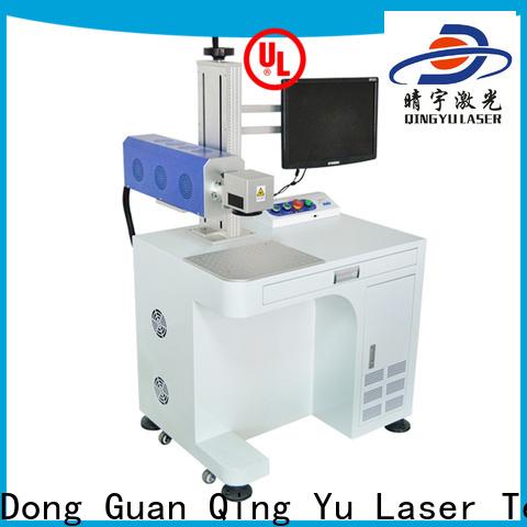 Qingyu laser marking machine cost manufacturer for food