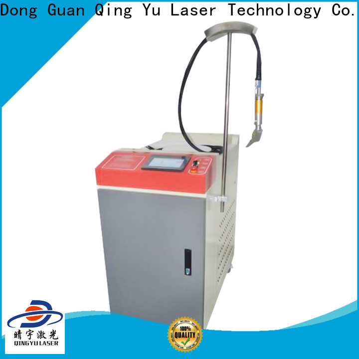 Qingyu stable laser welding machine factory price for outer right angle
