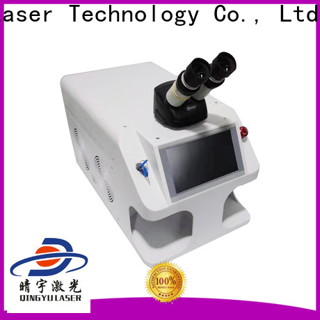 Qingyu laser welding equipment personalized for inner right angle