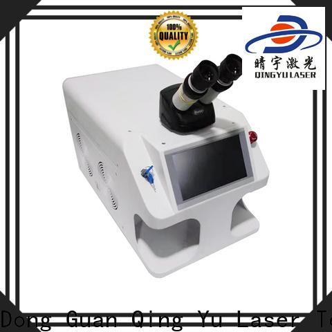 Qingyu long lasting laser welder low energy consumption for flat weld welding