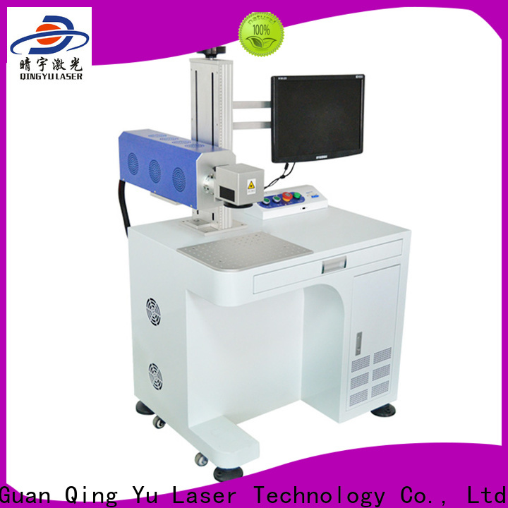 Qingyu portable laser marker customized for food