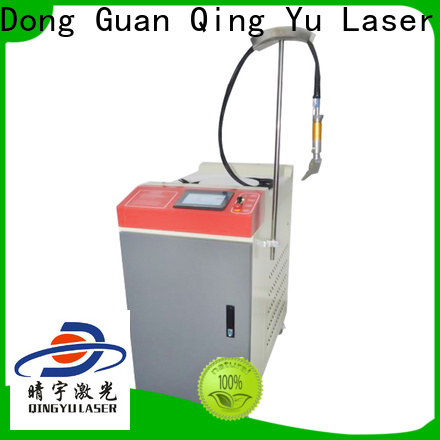 Qingyu best welding machine personalized for outer right angle