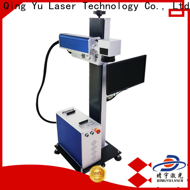 Qingyu laser marking machine supplier customized for meter