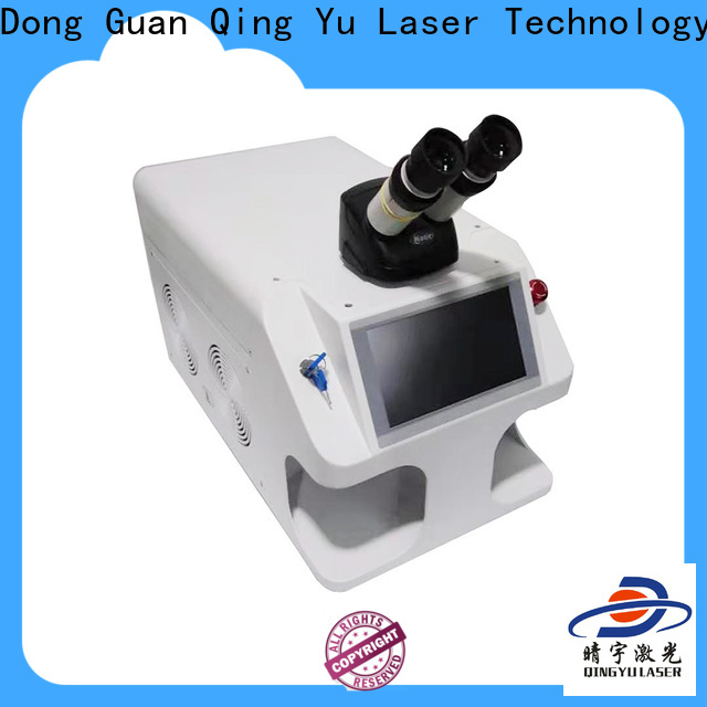 Qingyu long lasting laser welder factory price for large workpieces