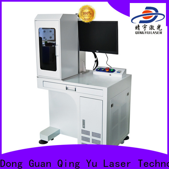 Qingyu portable laser marking companies customized for meter