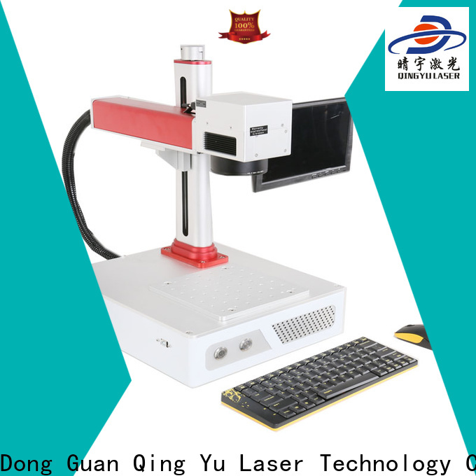 Qingyu laser marking machine cost customized for food