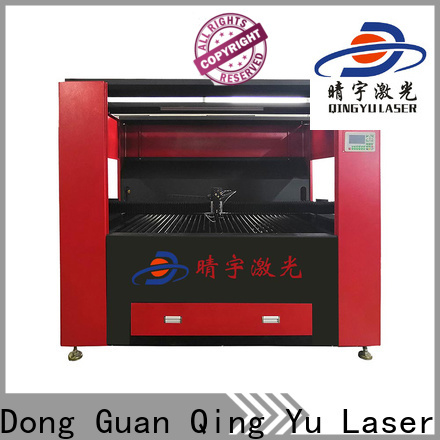 Qingyu stable laser cutting machine directly sale for stone