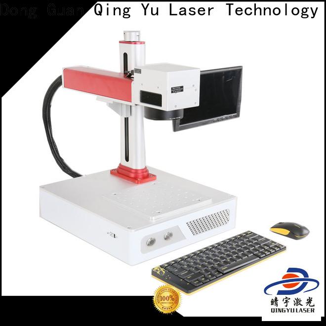 Qingyu high speed best laser marking machines supplier for beverage