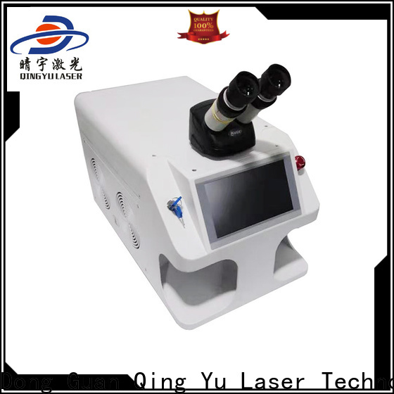stable laser welding equipment low energy consumption for outer right angle
