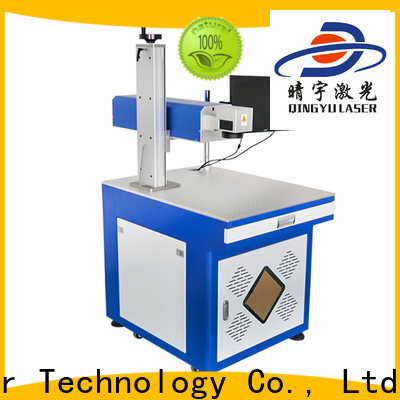 Qingyu portable best laser marking machines supplier for food