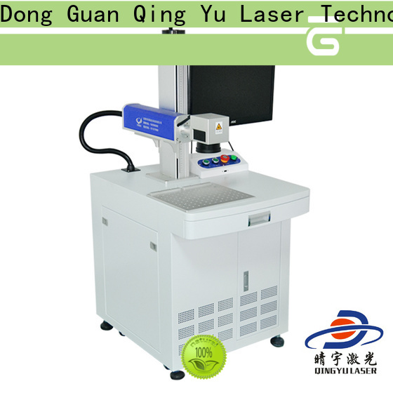 Qingyu stable best laser marking machines supplier for food