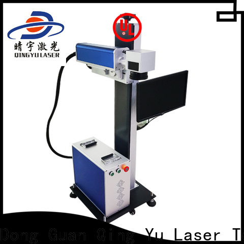 Qingyu stable laser marking machine supplier supplier for beverage