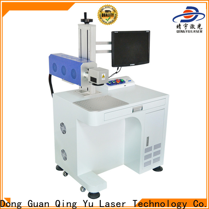 Qingyu high speed best laser marking machines manufacturer for cloth