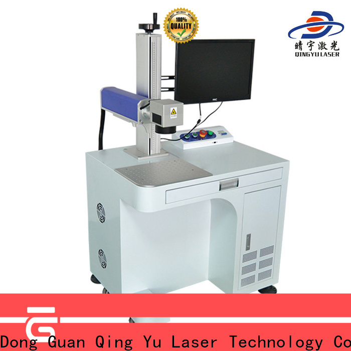 Qingyu portable laser marking companies series for beverage
