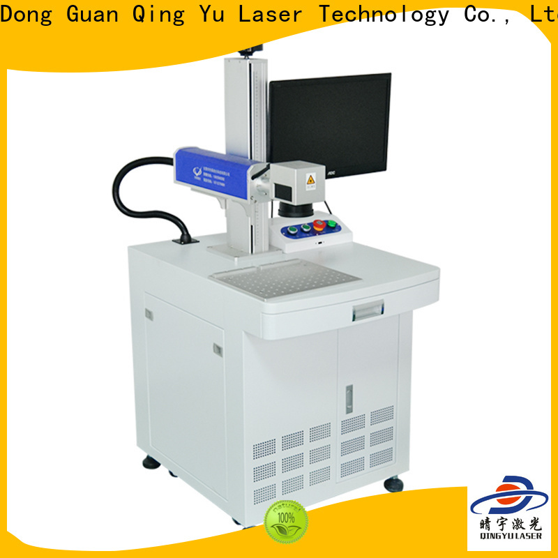 Qingyu stable laser marking companies manufacturer for cloth