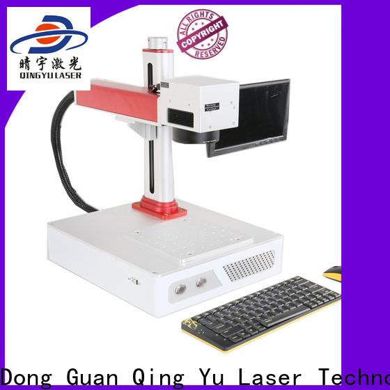 Qingyu stable affordable laser marking machine series for beverage