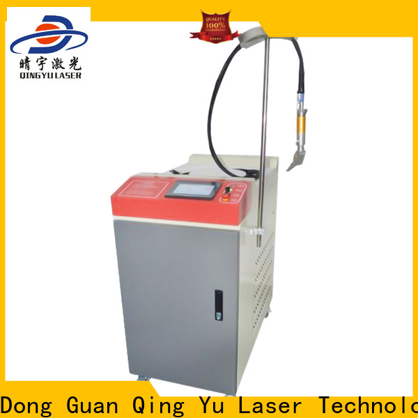 Qingyu laser welding machine low energy consumption for inner right angle