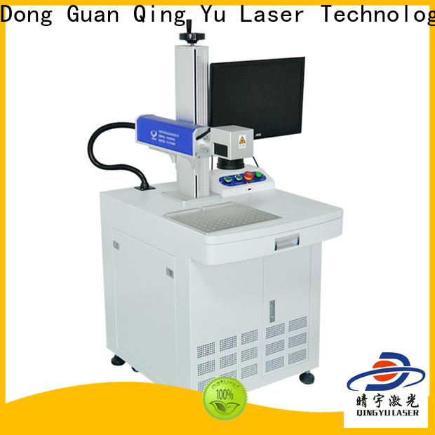 Qingyu high speed laser marking machine supplier customized for cloth