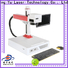 Qingyu portable laser marking machine manufacturers series for food