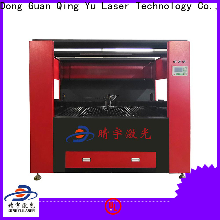 Qingyu laser engraver factory price for cards