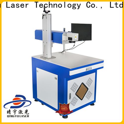 Qingyu best laser marking machines series for cloth
