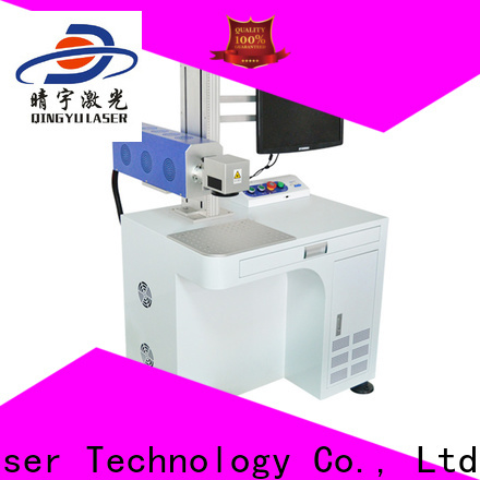 Qingyu high precise laser marking companies supplier for meter