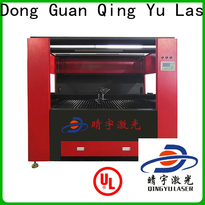 Qingyu durable laser cutting machine promotion for rubber